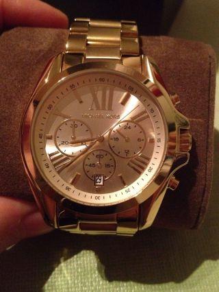 Michael Kors Uhr Mk5605 Gold Gelb Gold Bild