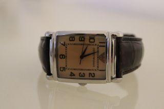 Armani Damenuhr Ar0403 Armbanduhr Uhr Lederarmband Bild