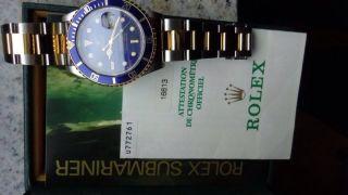 Rolex Submariner Stahlgold Mit Papiere Sowie Kartonage Bild
