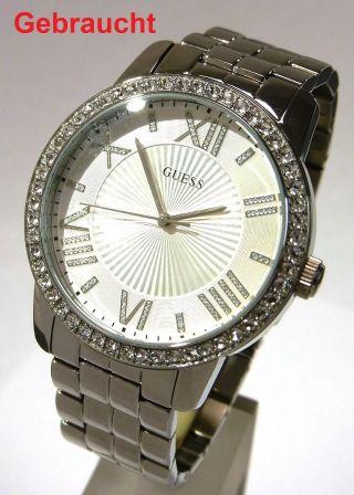 Guess W0329l1 Allure Damen Armbanduhr Quarzwerk Damenuhr Uhr Edelstahlgehäuse Xl Bild