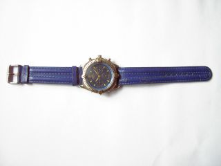 Breitling Armbanduhr Quarz Water Resistent Mit Armband Bild