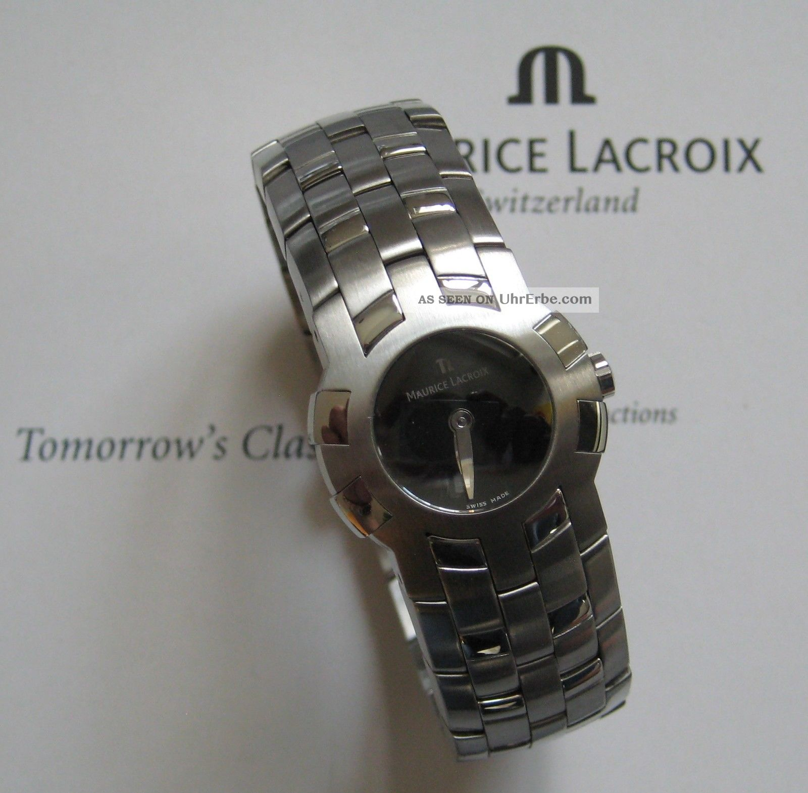 Maurice Lacroix Intuition 59858 - 6701 Mit Papieren Armbanduhren Bild