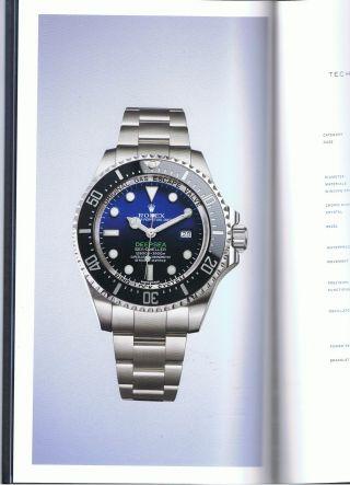 Rolex Deepsea Deep Sea Sea Dweller The Last Frontier Hardcover Buch Bild