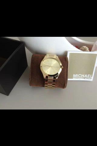 Michael Kors Mk3179 Gold Damenuhr,  Armbanduhr Gold Bild