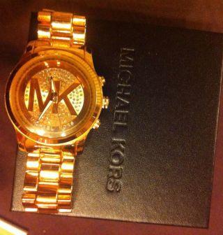 Michael Kors Mk2251 Damen Chronograph Uhr Rosegold Geschenk Weihnachten Blogger Bild