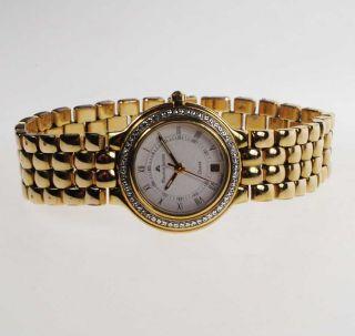 Maurice Lacroix Damen - Armbanduhr Quartz Vergoldet Ref 75141 Bild