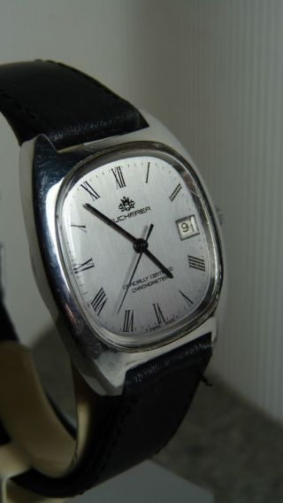 Luxus Bucherer Automatik Dress Watch Uhr Hau Bild