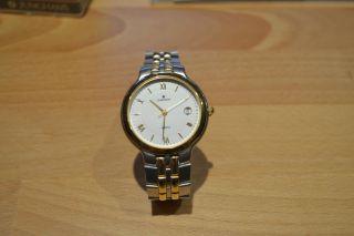Tolle Junghans Herren Armbanduhr Gold/silber Noch Nie Getragen Bild