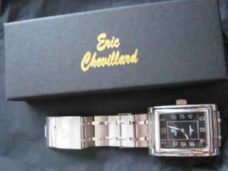 Perfect Klassische Herren Uhr - Wasserresist.  30 M V.  Eric Chevillard Bild