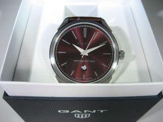 Gant Herren Armbanduhr Tully Chronograph Mit Lederarmband Braun W10403 Bild