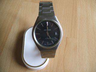 Defekte Uhrsammlung An Bastler Alte Junghans Herrenuhr Quartz Uhrwerk Bild