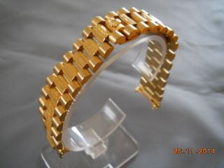 Rolex President Gold 18k 750 Armband