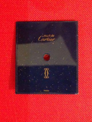 Cartier Lapislazuli Zifferblatt Zeiger Gold Tank Handaufzug Herren Bild