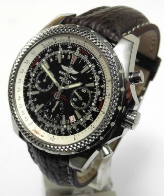 Breitling Bentley Motors A25362,  30 Sek.  Chronograph Special Edition Bild