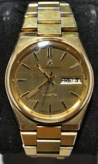 Herren Armbanduhr Junghans - Quarz Bild