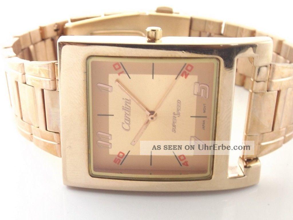 Rose Gold Cardini Quartz Japan Herrenuhr Bid2win Keine Versteckten Preis Armbanduhren Bild