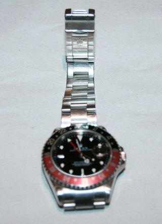 Rolex Gmt Master Ii 16710 T Gepflegter Stahl Y Serie Bild