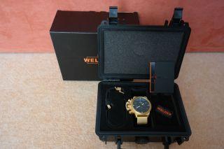 Welder K24 Chronograph 3404 Vergoldet Bild