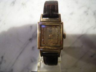 Herren Armbanduhr Der Marke Glashütte Kal.  62,  2 Bild