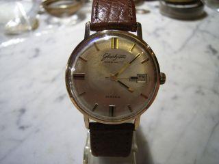 Herren Armbanduhr Der Marke Glashütte Spezimatc Kal.  75 Bild