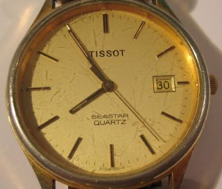 Tissot Seastar Armbanduhr Für Bastler Bild