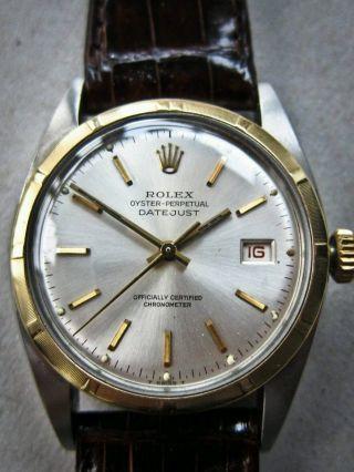 Rolex 6075 - Oyster Stahl - Gold Aus 1951 Bild