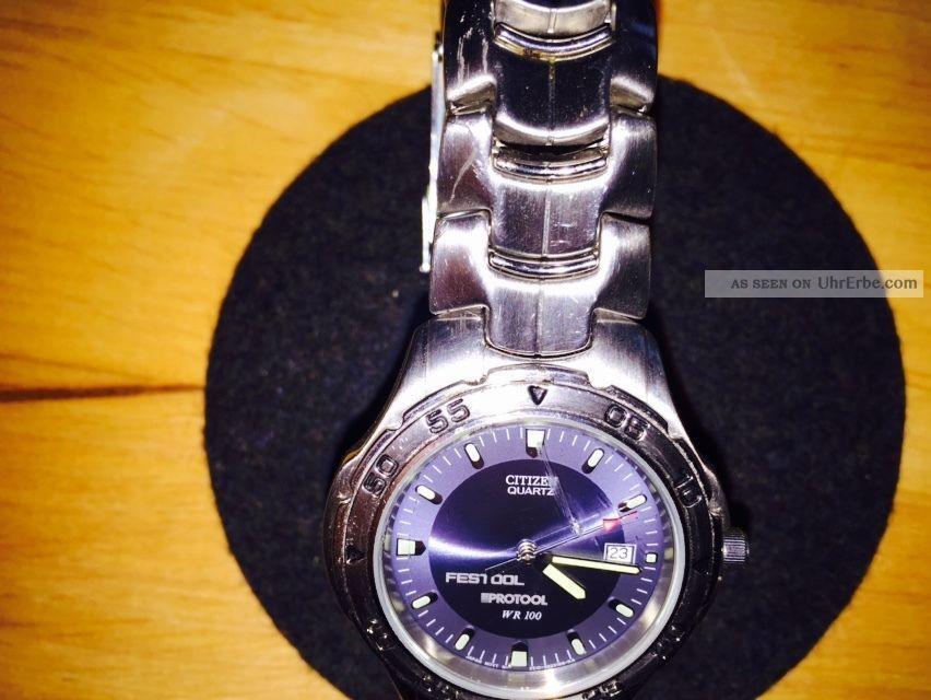 citizen uhr herren edelstahl armbanduhr mit datumsanzeige. Black Bedroom Furniture Sets. Home Design Ideas