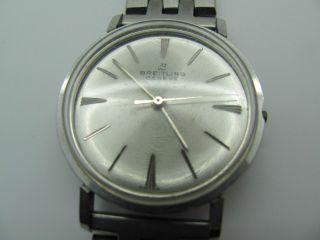 Breitling Armbanduhr Automatik Geneve 60iger Jahre Bild