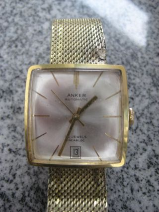 Herrn Armbanduhr Anker Automatic Bild