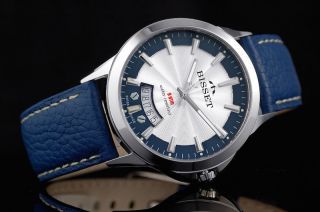Bisset Bscd15 Blue Septimus 5 Atm Swiss Made Bild