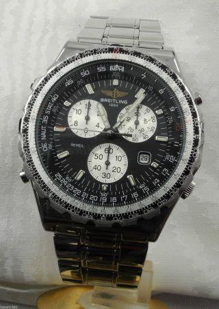 Breitling Jupiter Pilot Quarz Armbanduhr Bild