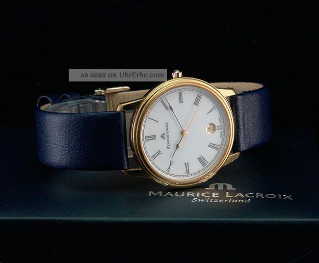Maurice Lacroix Classics Vergoldet Armbanduhren Bild