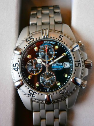 Festina Chrono Bike 100m/330ft Registered Model 8890 Bild