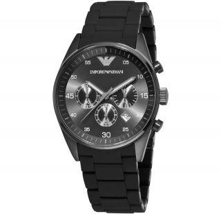 Emporio Armani Ar5889 Chronograph Herrenuhr Sportivo Herren Uhr Und Ovp Bild