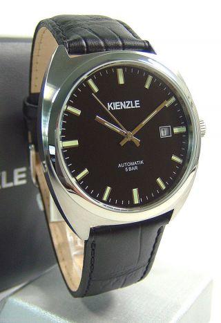 Kienzle Herrenuhr Automatik Leder Armband 5 Barw.  R. Bild