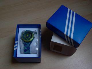 Adidas Uhr Kinderuhr Blau Ovp Bild