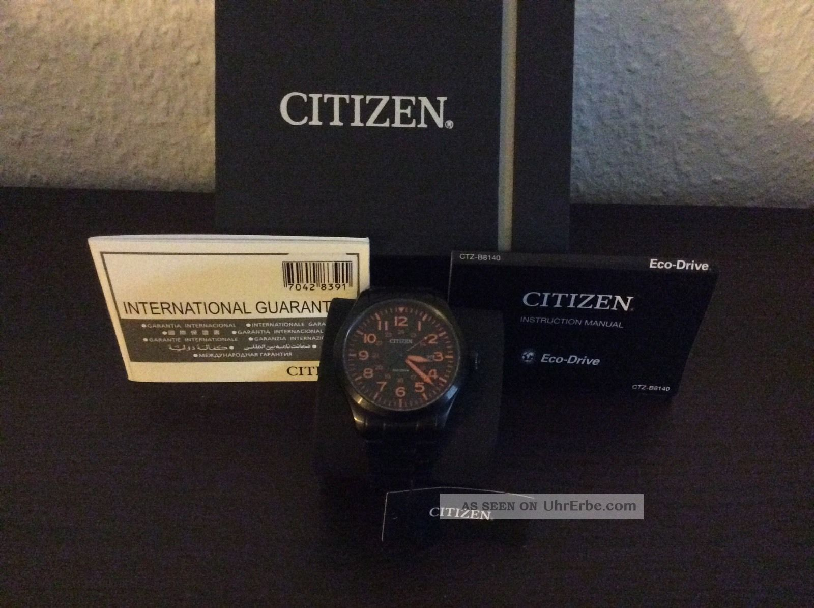 citizen eco-drive b8140 инструкция