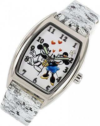 Disney Mickey Mouse Zr 25652 Quartz Kinderuhr Bild