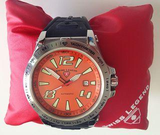 Neuwertige Swiss Legend - Automatic - Swiss Made - Sprint Racer - - Diver - Bild