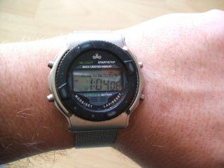 Uhrsammlung Alte Meister - Anker Digital Herrenuhr Quartz Uhrwerk Bild