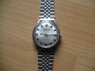 Defekte Uhrsammlung An Bastler Alte Pallas Automatic Herrenuhr Bild
