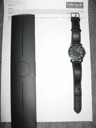 Armbanduhr Sky Pilot Von Hirsch Mit Datumsanzeige Bild