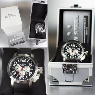 Tw Steel Tw41 Herren Edelstahl Uhr Verpackt - - Bild
