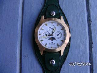 Armbanduhr - Eden Switzerland - Chrono (sehr Gt.  Zust. ) Bild
