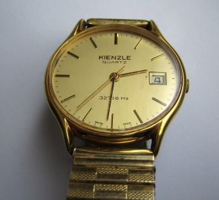 Vintage Watch Kienzle Quartz Swiss Madefrühe Kienzle Quarzuhr Bild