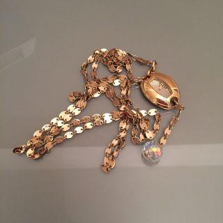 Mango Damenuhr Uhr Armbanduhr Kettenuhr Gold Bild