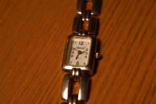 Damen Armbanduhr 925er Sterlingsilber Ingersoll Quarz Bild