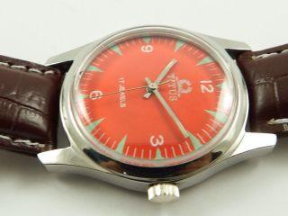 Titus Swiss Rarität Armbanduhr Handaufzug Mechanisch Vintage Sammleruhr Bild