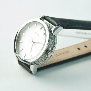 Donna Karan York Damen Armbanduhr Strass Ny8305 Geschenkbox Uvp 139,  00 Bild