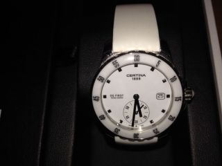 Certina Ds First Damen Quartz Uhr Wie Bild